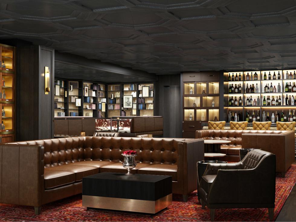 Omni Houston new Whiskey Room