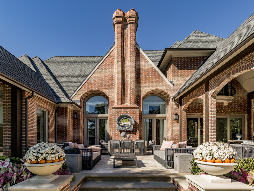 Outdoor living area in Dallas