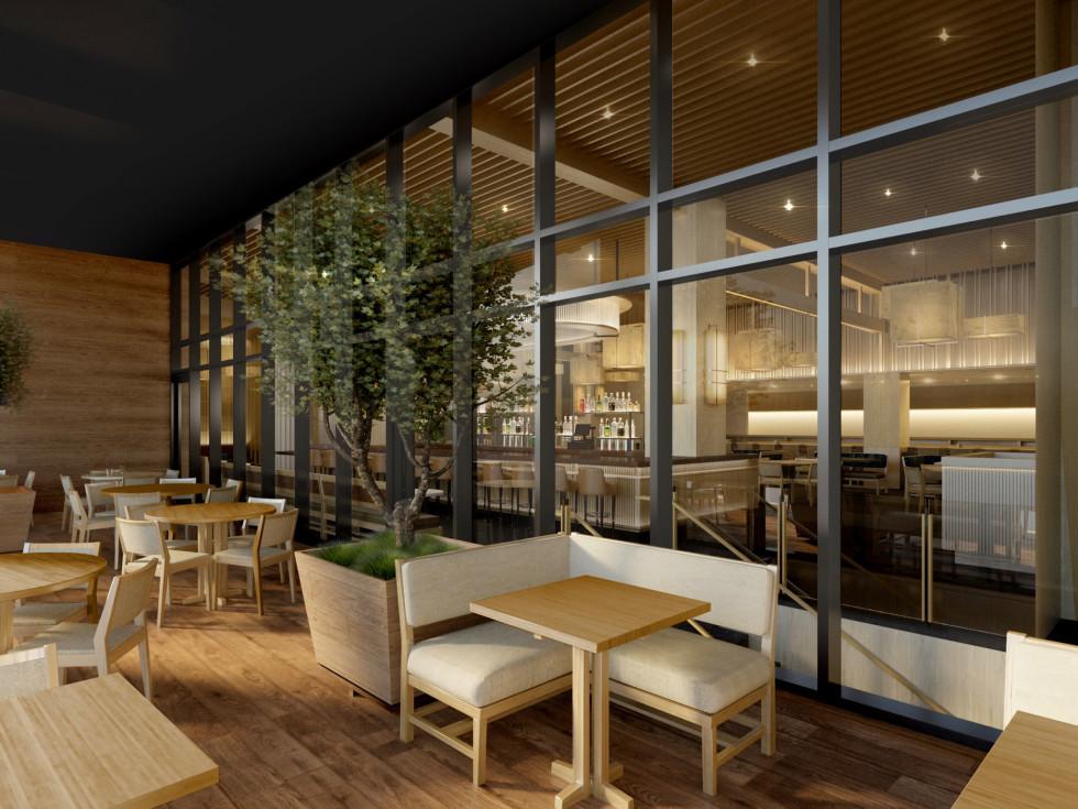 Nobu Houston terrance rendering