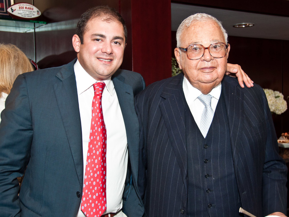 News_Founders Box_Phillip Sarofim_Fayez Sarofim
