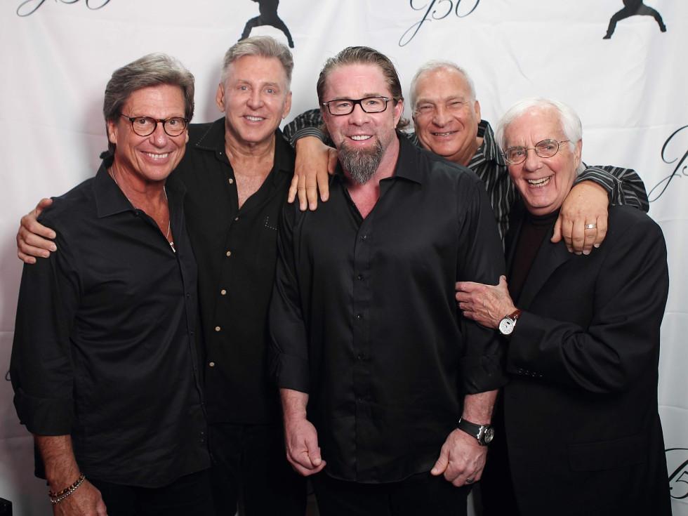 Jeff Bagwell 50th birthday Potente  Tom Fritch - Dan Cartwright - Jeff Bagwell - Danny Mushin - Scott Bassinger