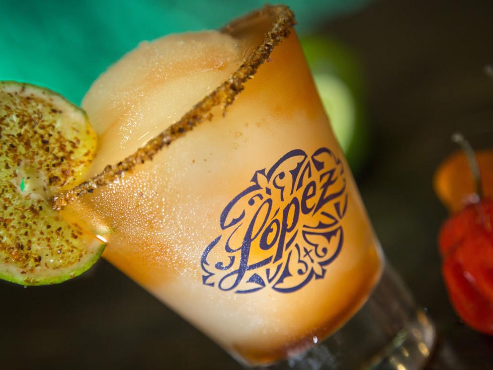 Lopez Mexican Restaurant Richmond habanero margarita