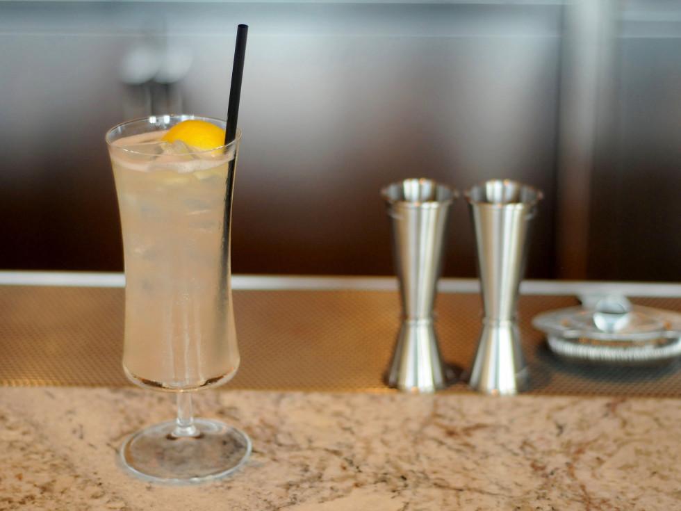Nobu Houston grapefruit on the rocks cocktail