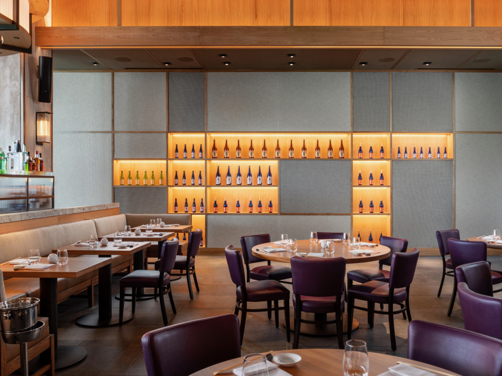 Nobu Houston dining room interior