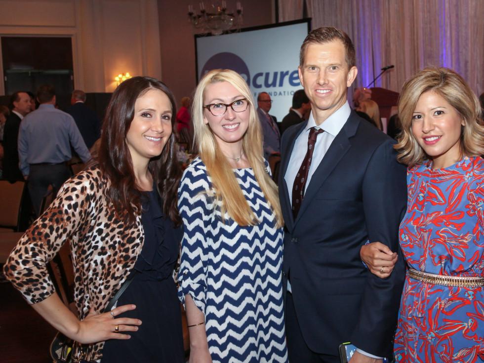 Blue Cure Whitney Fisher, Alisha McCarver, Andy & Elizabeth Rowold