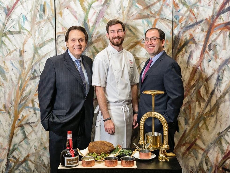 Tony Vallone Austin Waiters Scott Sulma Tony's