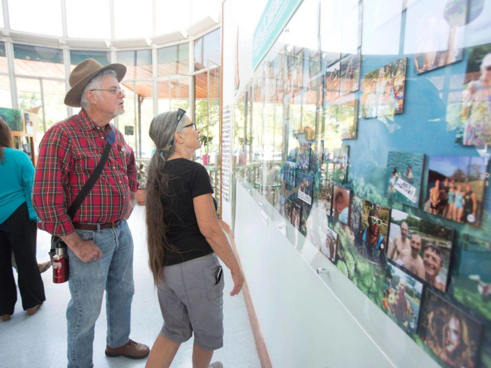 Faces of Barton Springs Exhibition