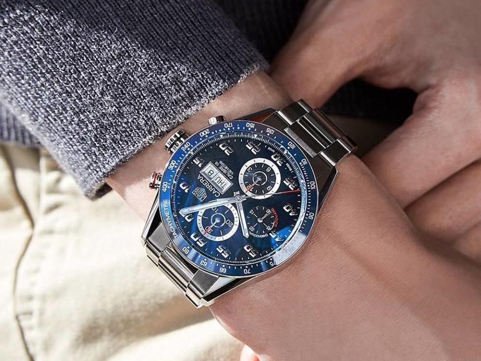 Tag Heuer Carrera Calibre 16 100 M watch