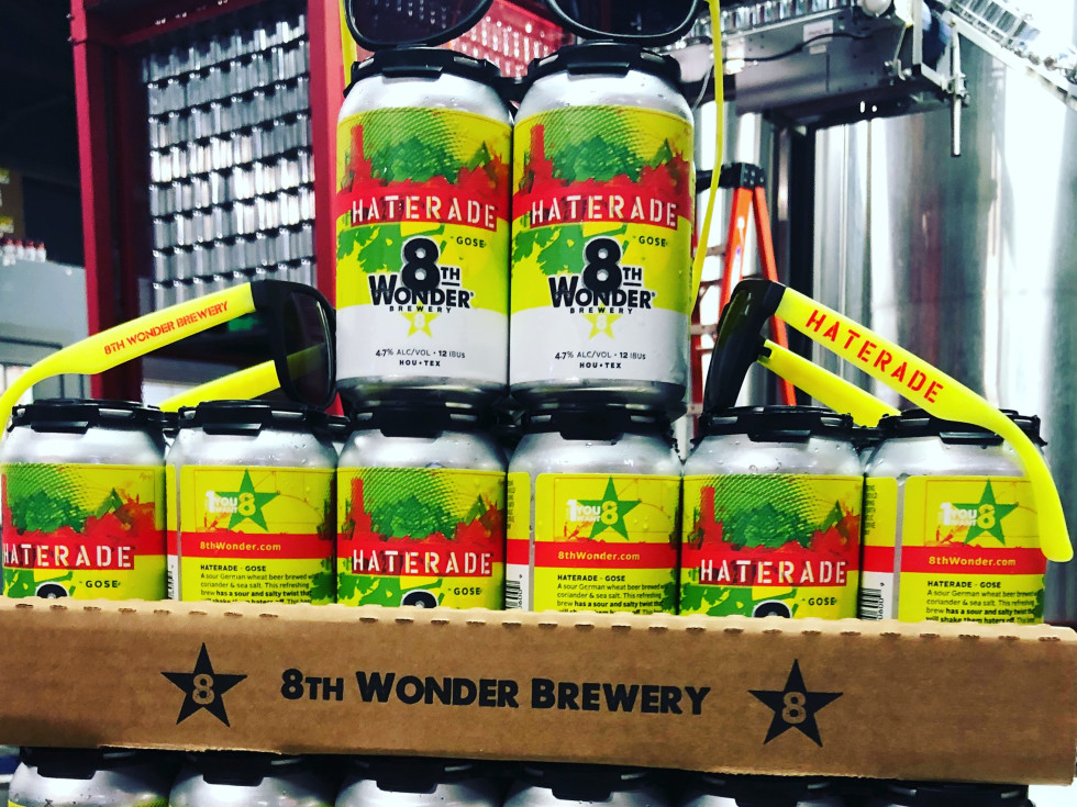 8th Wonder Brewery Haterade cans