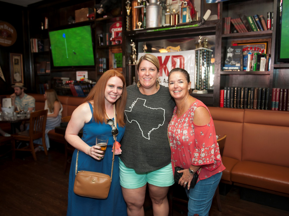 Amber Grunewald, Melissa Pinkerton and Michelle Mullins