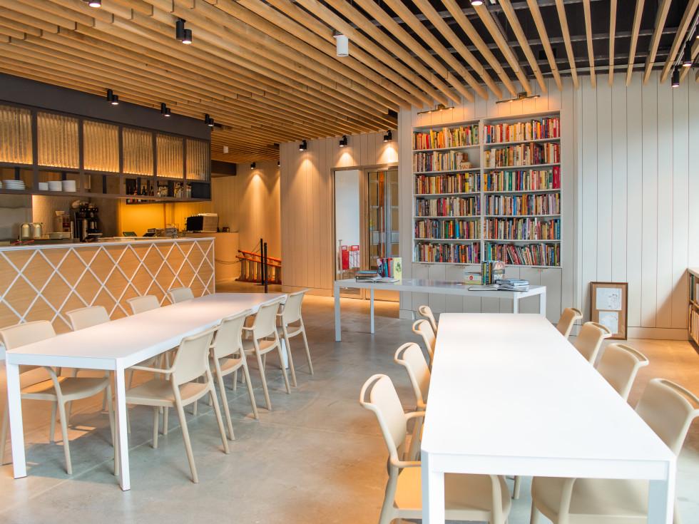 Austin Cookbook Cafe interior