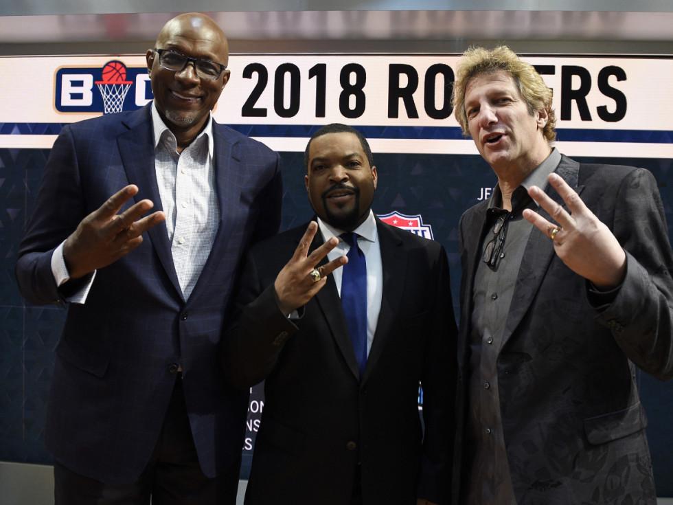 Big 3 basketball league Ice Cube Clyde Drexler