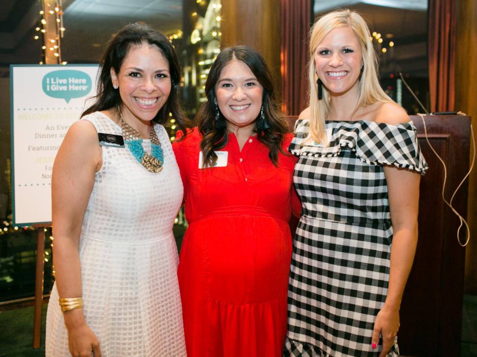 Celeste Flores, Jackie Sekiguichi and Brittany Morrison