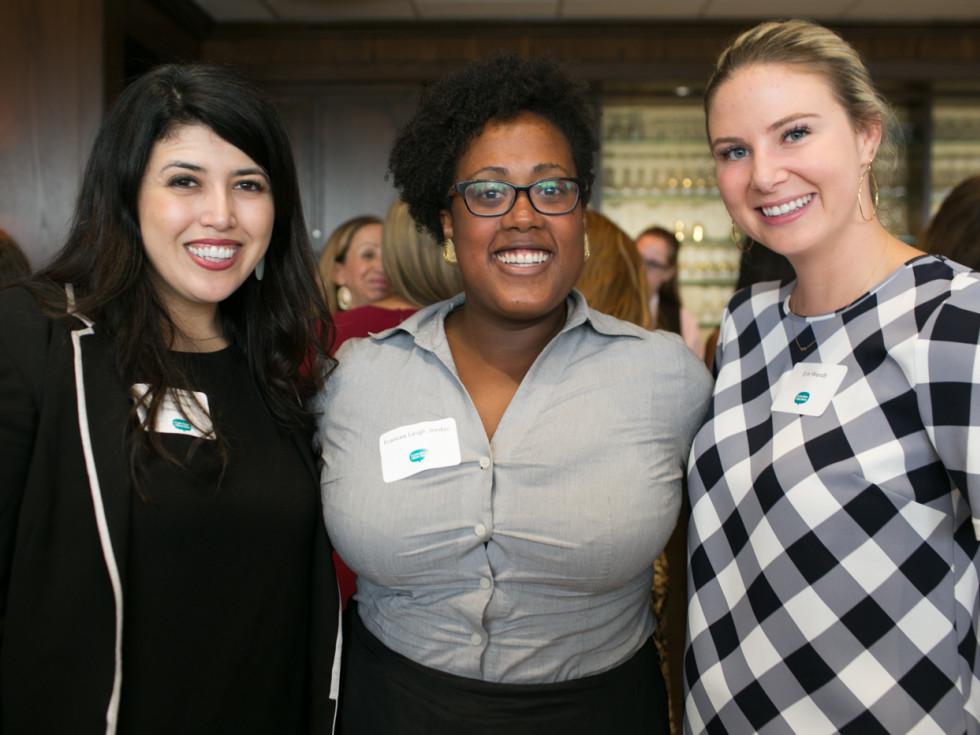 Vanessa Fuentes, Frances Leigh Jordan, and Erin Wendt