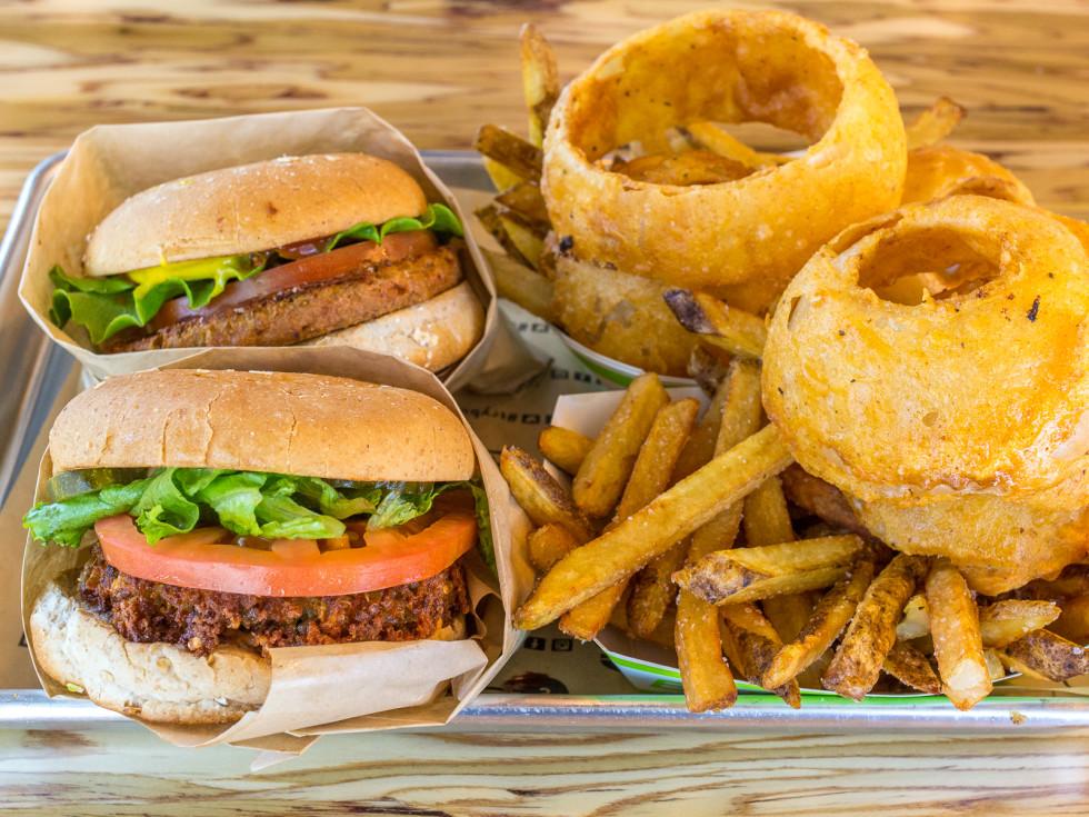 BurgerFi veggie burgers