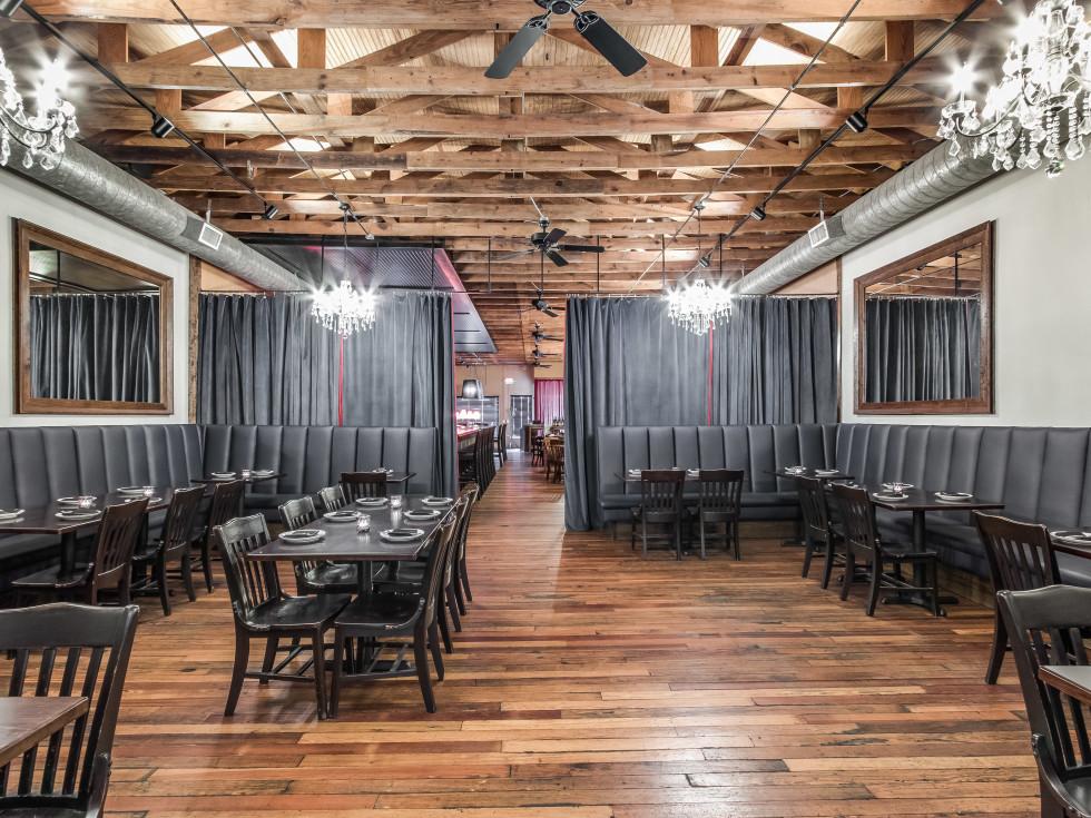 Vino Vino Austin back dining room