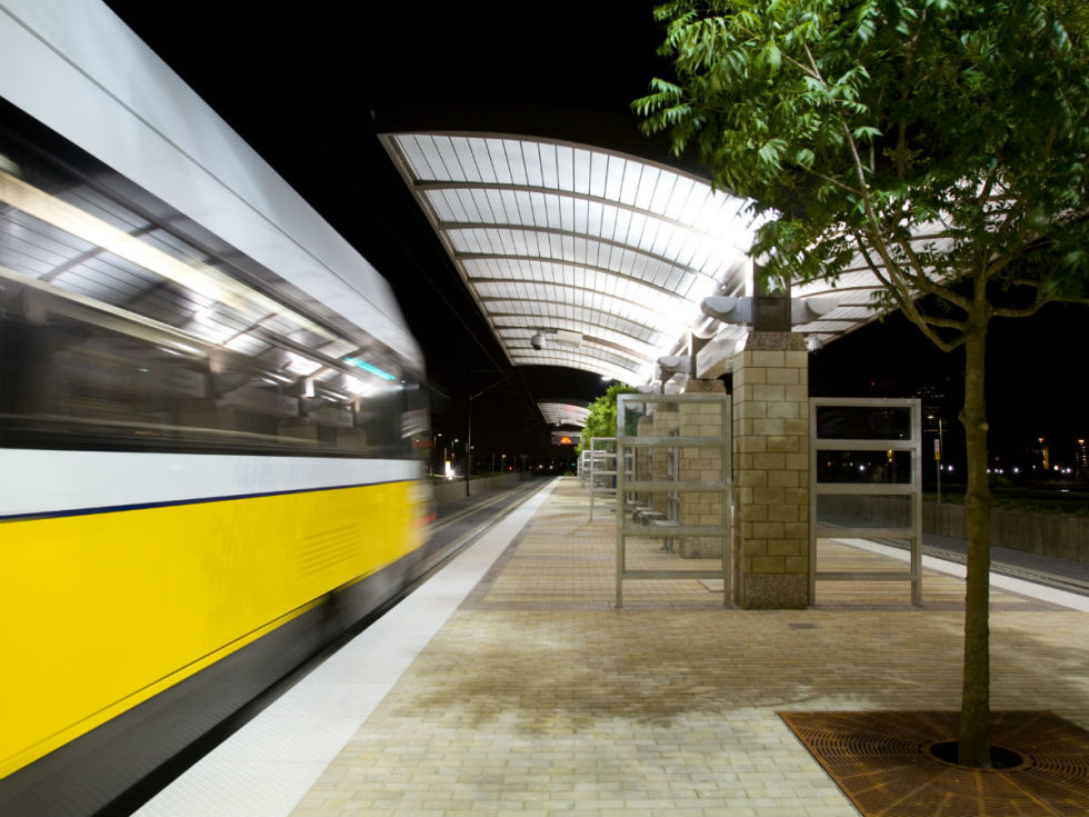 DART rail, train