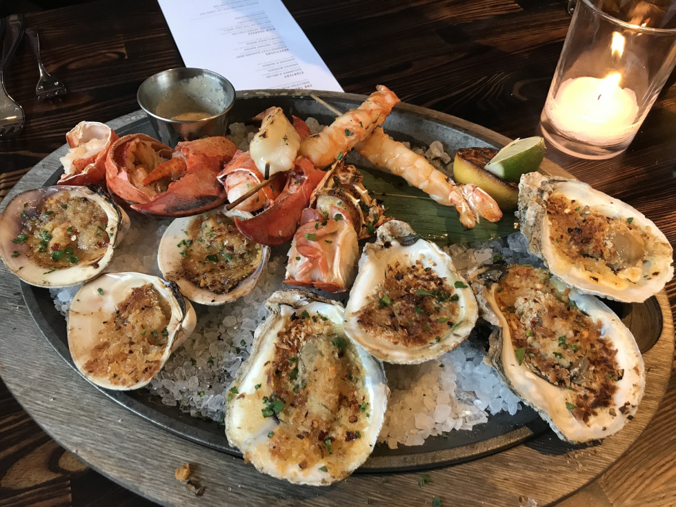 International Smoke seafood platter