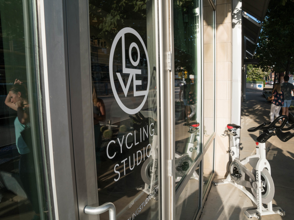 Love Cycling Studio Frost Pop-up