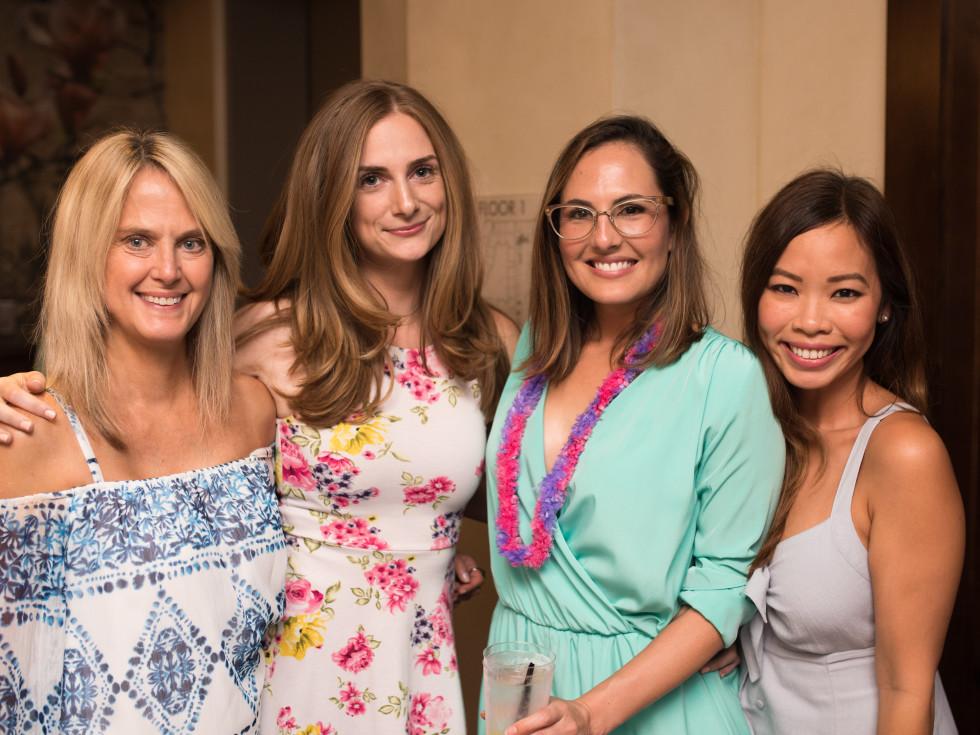The Center Bar Rebecca Ratkiewicz, Alexis Stevenson, Natalie Campos Goodman, Angie Dao