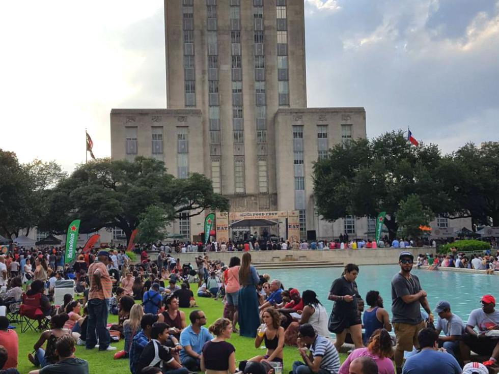 Houston Food Fest downtown