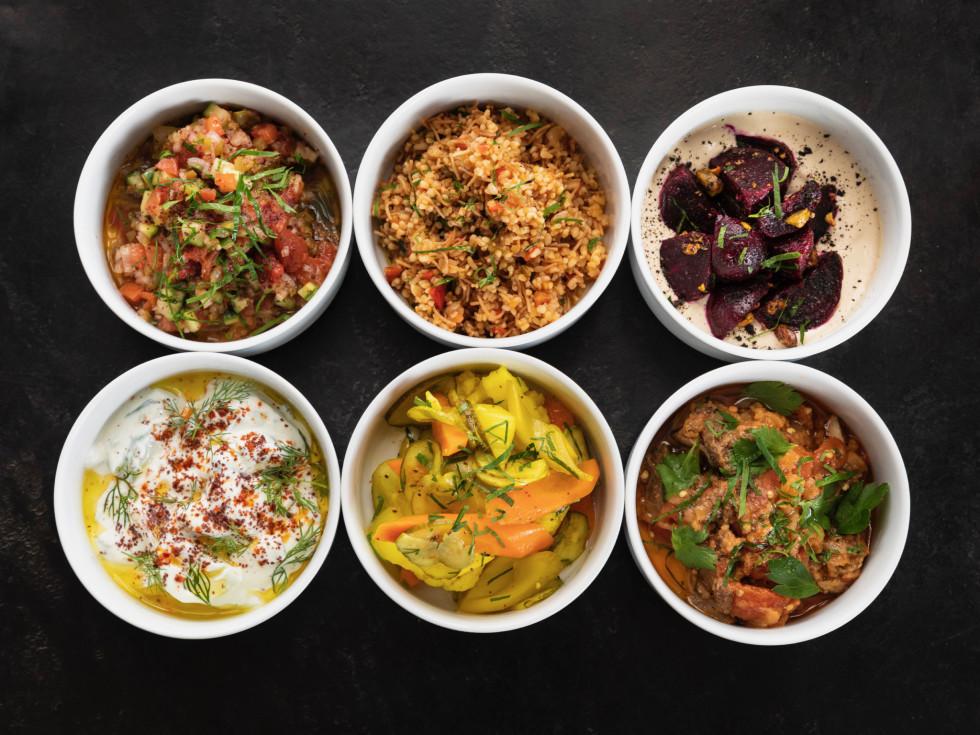 One Fifth Mediterranean salads