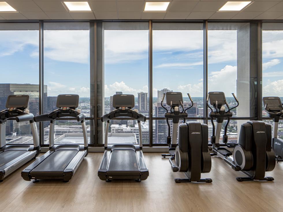 The Westin Galleria Houston fitness center