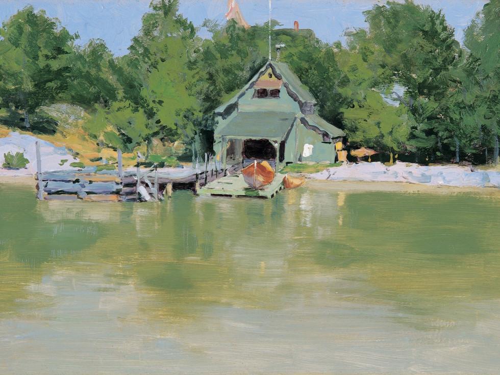 Sid Richardson Museum, Frederic Remington East, Boathouse