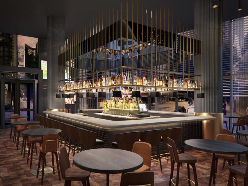 The Otis hotel bar