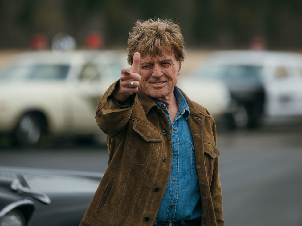 Robert Redford in The Old Man and the Gun