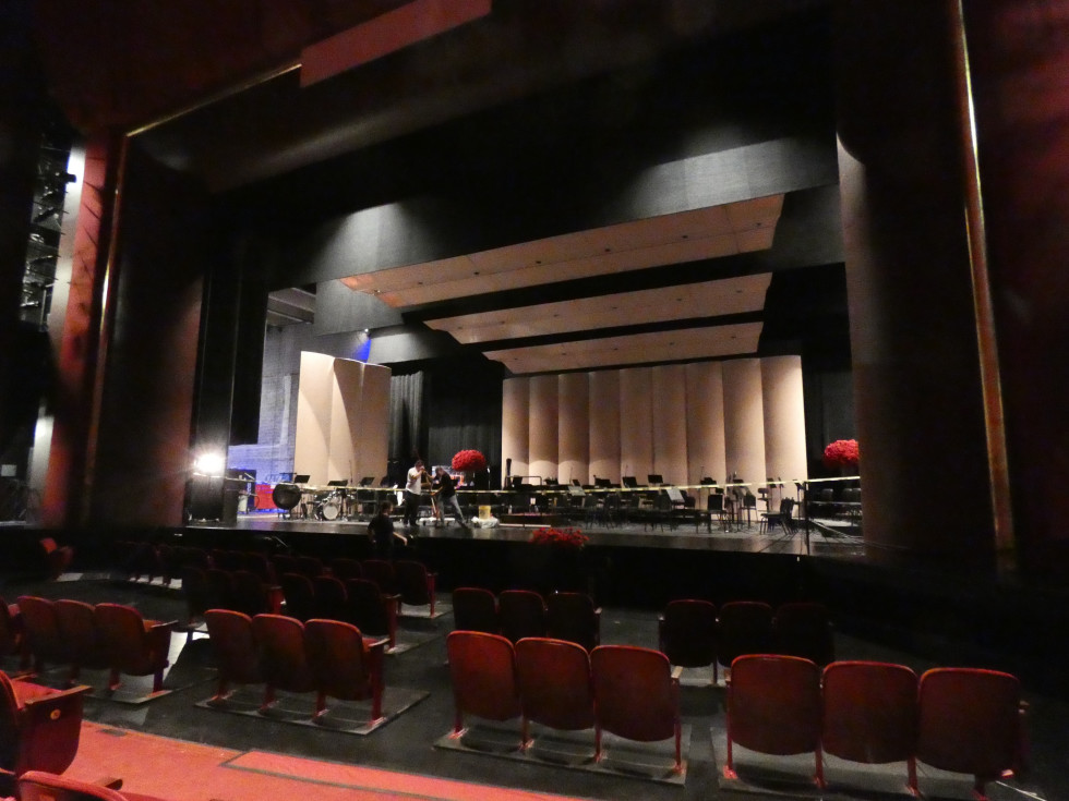Wortham Brown Stage