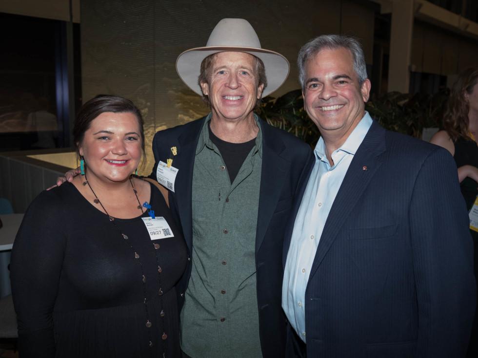 Texas Tribune Festival 2018 VIP Party at Google Hilary Barrett Robert Howard Mayor Steve Adler