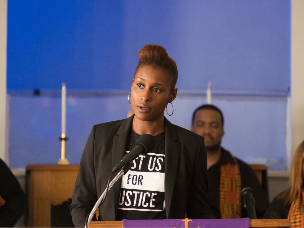 Issa Rae in The Hate U Give