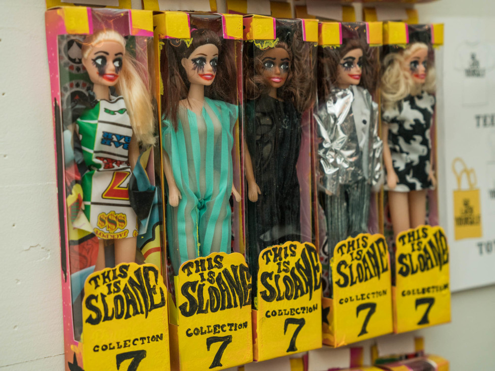 THIS IS SLOANE Collection 7 We're Throwing a Funeral Fashion Show Barbies