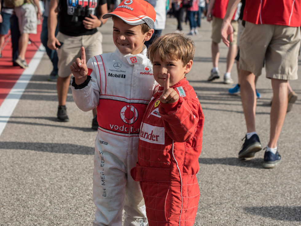 Little boys at COTA