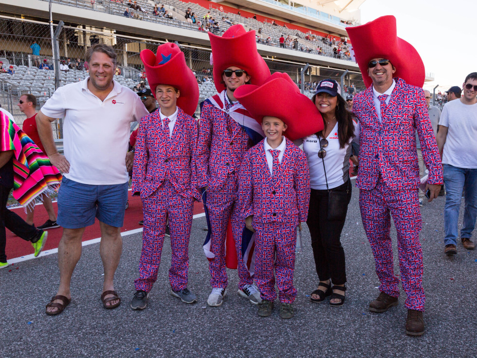 British family at COTA