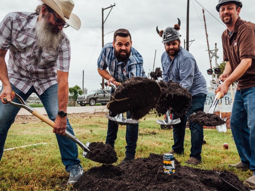 Buffalo Bayou Brewing groundbreaking