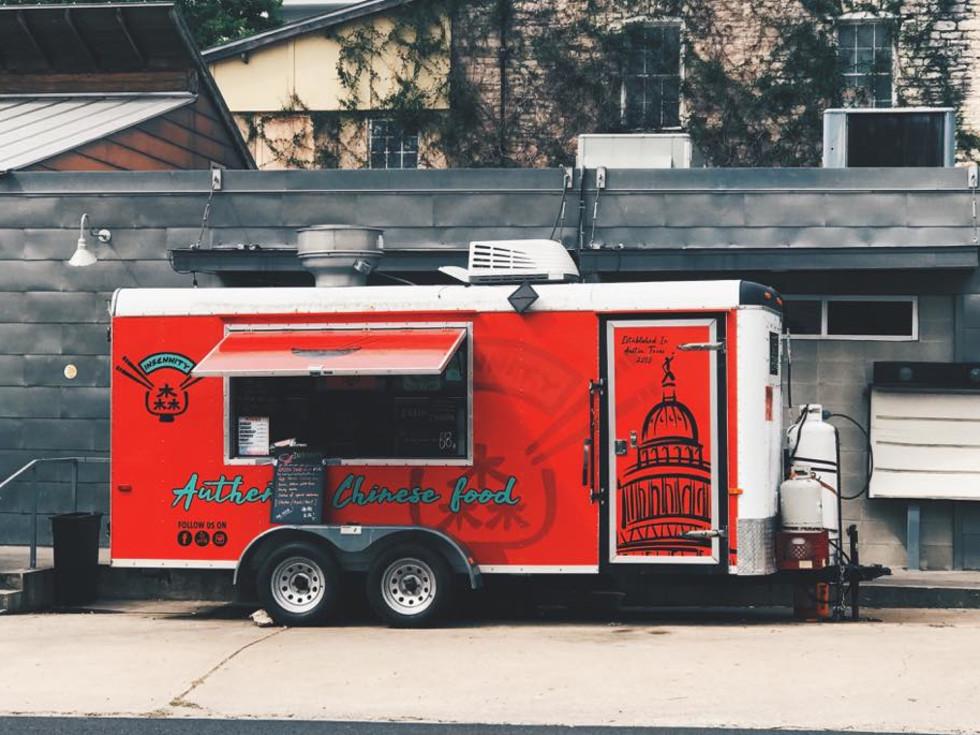 Insennity Austin food truck