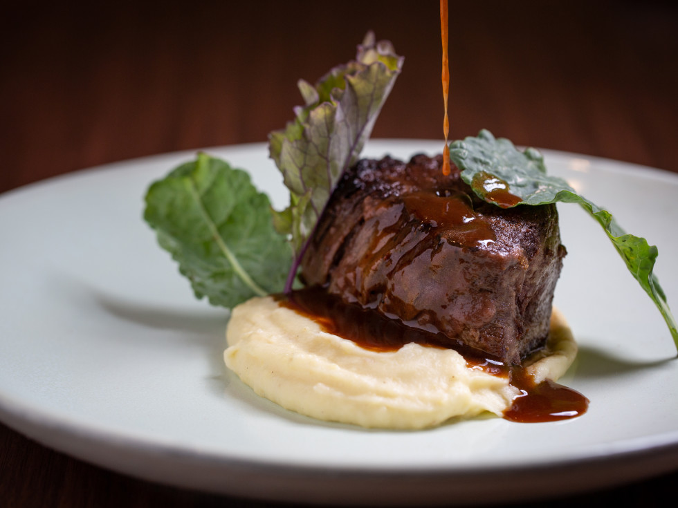 Oak grilled filet mignon from Ciclo