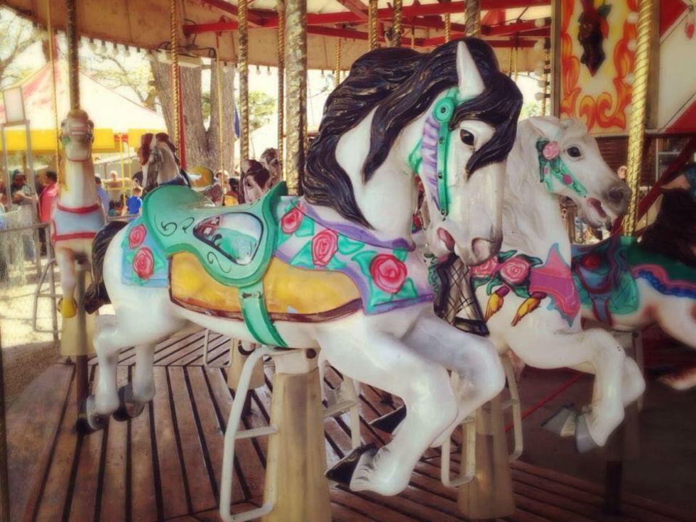 Carousel merry go round
