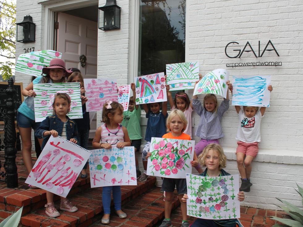 Gaia kids' art workshop