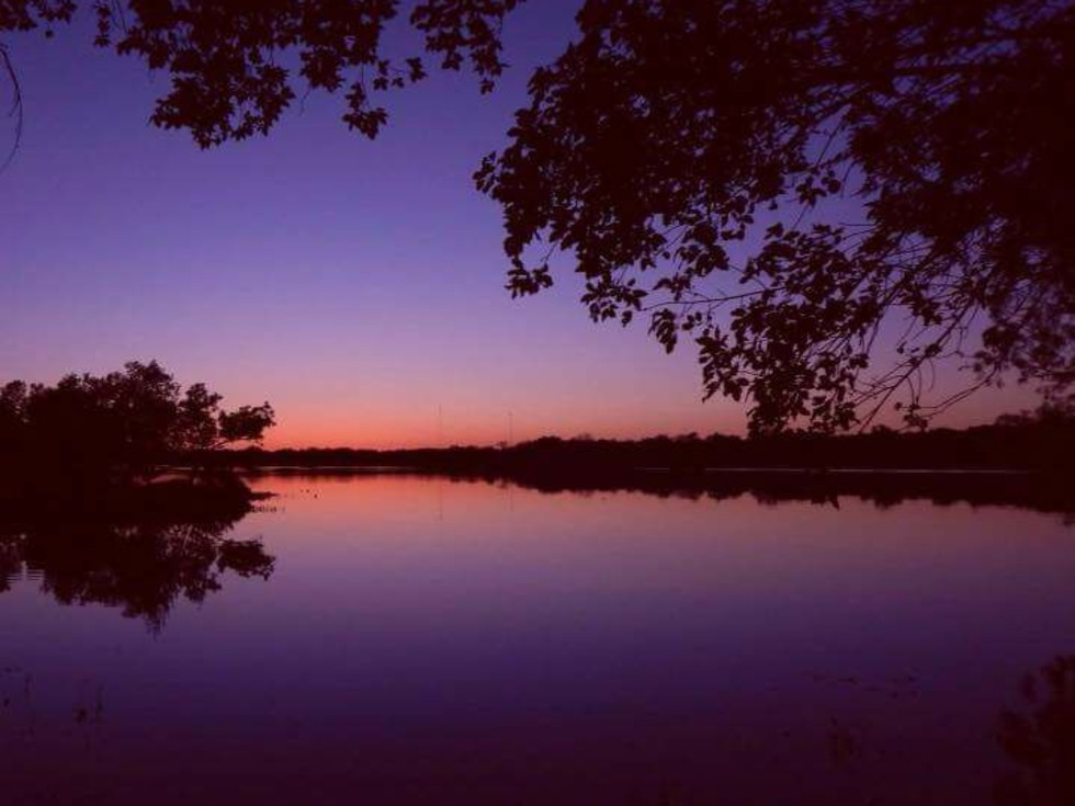 Inks Lake State Park night fall
