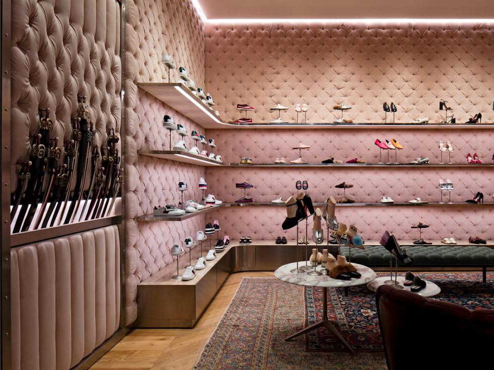 Gucci store interior