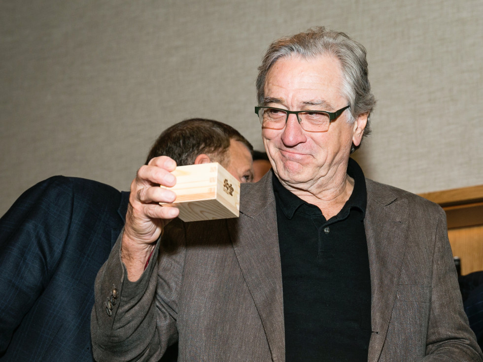 Nobu opening party Robert De Niro