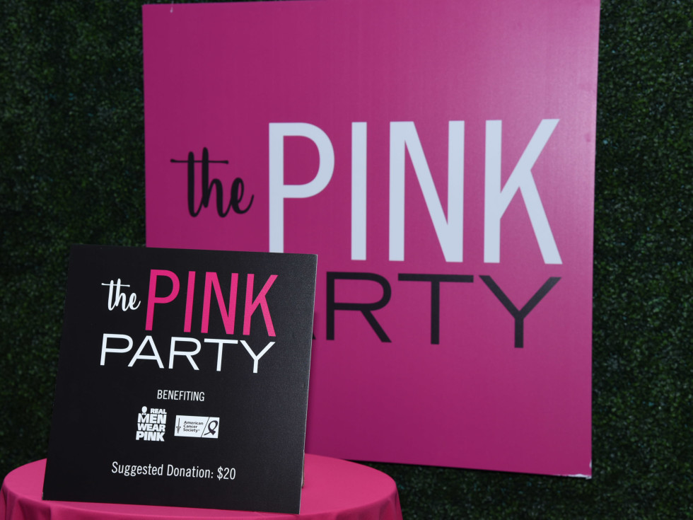 Pink Party 2018 West Ave welcome