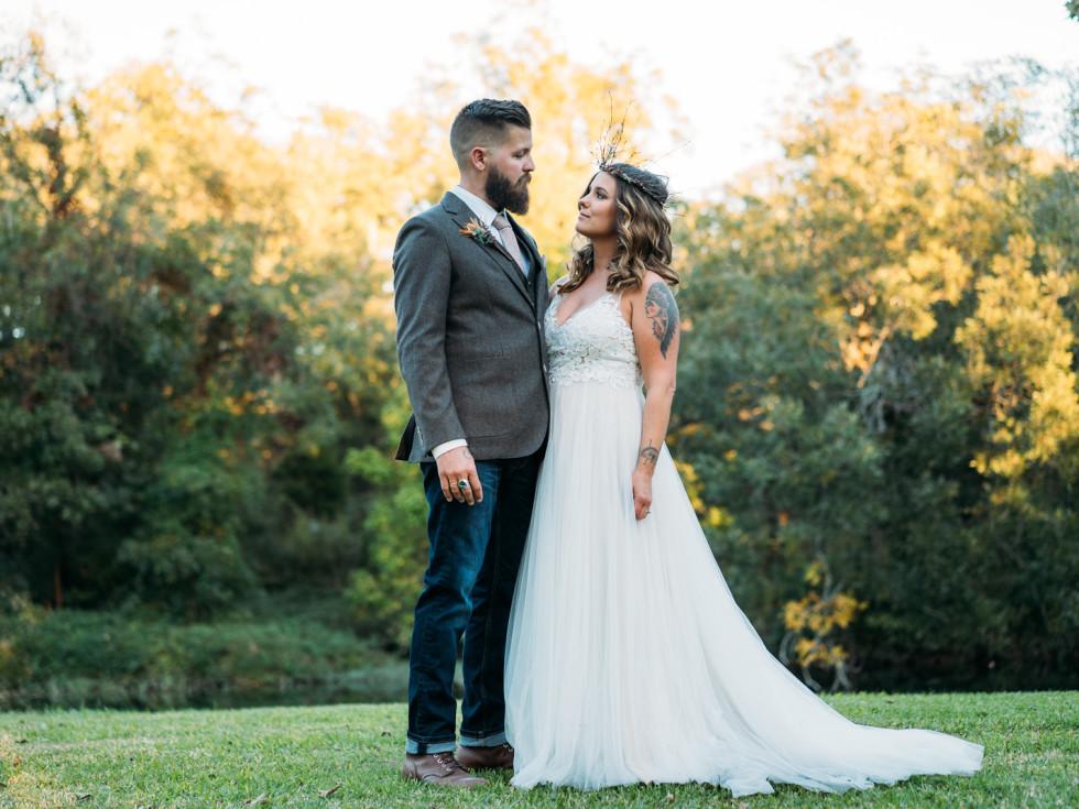Alysa Thornely Matthew Reininger wedding
