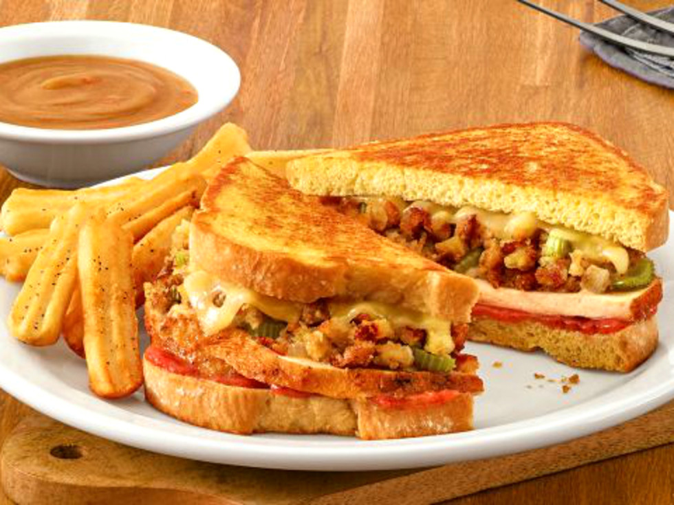 Denny's Holiday Turkey Melt