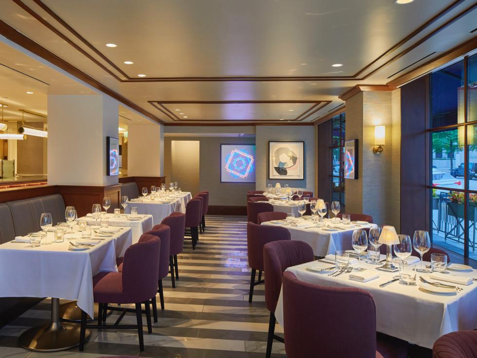 Lancaster Hotel Cultivated F+B interior