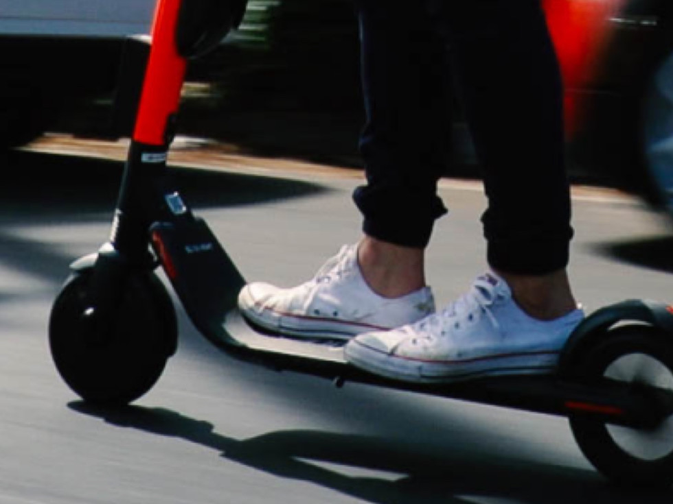 Uber Jump electric scooter