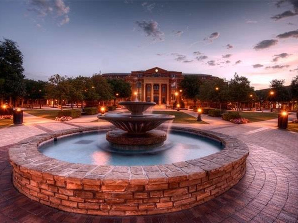 Southlake Town Square fountain